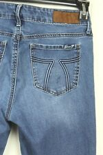 Seven 7 Womens Size 10 Skinny Stretch Blue Jeans
