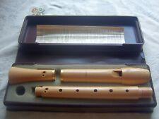 Wooden Moeck Tuju 236 Alto / Treble Recorder, Baroque, Maple, excellent