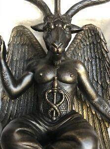 NEW BAPHOMET GOAT OF MENDES OCCULT SATANIC GOTHIC FIGURE STATUE FIGURINE 25cm