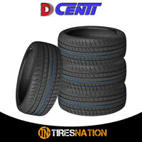 (4) New Dcenti D6000 245/40R18 97W All-Season High Performance Tire