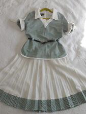 Hamells VINTAGE WW2 40 Stile Tea Dress UK 12 ❤