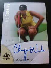 Cheyenne Woods 2014 SP Authentic Rookies Auto /699