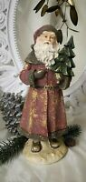 Weihnachtsmann Deko Figur  Weihnachten Christmas Shabby Chic Landhaus 29cm