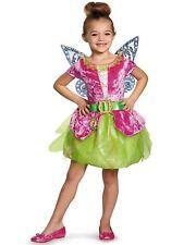 Disney Fairy Pirate Tinker Bell Girls Costume Brand New Tutu & Wings Child Dress