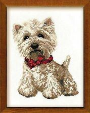 Riolis West Highland White Cross Stitch Kit, Multi-Color
