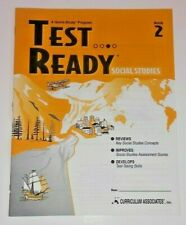 Social Studies Test Ready Prep History Geography Etc Review Practice 2nd Grade 2