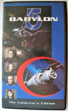 Babylon 5 Vhs Collectors Edition Racing Mars Lines of Communication Tape in Case