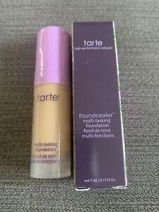 Tarte Babassu Foundcealer Skincare foundation Deluxe Mini BNIB 34S Medium Sand