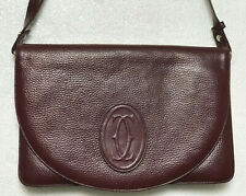Borsa Cartier a tracolla Vintage in pelle, in buonissime