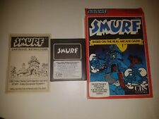 Smurf (Cbs Electronics) For Atari 2600 ■■ Pal (Uk) Version ■■ •••Rare Game•••
