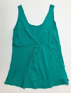 Fabletics Women's Turquoise Size Medium Tank Top NWOT