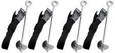 Anchor Kit Trampoline Universal Fit Adjustable Strap Backyard Storm Safety