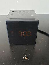 Sony ICF-C1 AM/FM Cube Alarm Clock Radio - Black