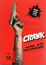 Crank , Extended version , 100% uncut , DVD Region2 , Jason Statham