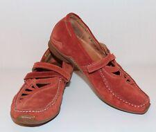 Think! señora zapatos de gamuza marrón Lagenlook 38.5 utilizada Shoes zapato bajo