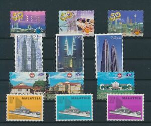 LO29102 Malaysia mixed thematics nice lot of good stamps MNH