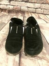 Women's Cushe Surf Slipper Thermo Loafer Black Grey Shoes Size