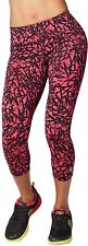 Zumba Fitness Damen WB Funked Up Perfect Capri Leggings, Berry, XXL, Hosen