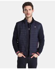 Manteaux et vestes bleus coton pour homme, taille 52