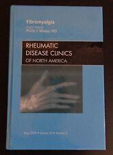 RHEUMATIC DISEASE CLINICS OF NORTH AMERICA Fibromyalgia 2009 Book Vol 35 #2