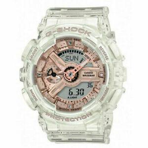 Casio G-Shock S Series Transparent x Rose Gold GMA-S110SR-7A Women's Watch