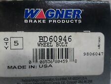 5 ~  BD60946 Wagner Wheel Lug Studs Front,Rear