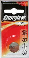 1 X Cr1620 Br1620 1620 3volt Energizer Lithium Cell Batteries Exp July 2023