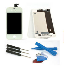 iPhone 4s 4 S Komplettset HQ Display + Backcover LCD Display Touchscreen Weiß