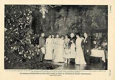 Weihnachtsbescherung beim Prinzen Ludwig von Bayern Münchner Wittelbachpa...1903