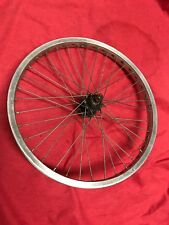 Old School Bmx Mongoose Pro Class Proclass Aluminum Rear Rim Wheel Californian