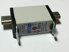 NH Sicherungs Einsatz Gr. NH-00/00 Mi 100A 590.521 energiesparend Flachsicherung