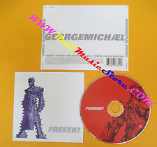 CD singolo George Michael Freeek! 5706812 EUROPE 2002 no lp mc vhs dvd(S19)