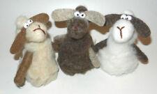 3 Schafe auf Filz Tischdekoration 15cm groß - 3erSet -