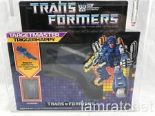 Transformers Original G1 AFA 80+ Targetmaster Triggerhappy MOSC MIB 80/90/90