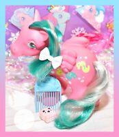 ❤️My Little Pony MLP G1 Vtg 1984 Sunshine WAVE RUNNER Pegasus Seahorse COMB❤️