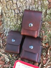 One Handmade Leater belt pouch for Altoids Tin, Backpack bushcraft survival