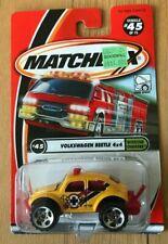 Matchbox Yellow Volkswagen Beetle 4x4 - New In Box