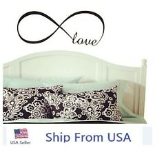 """LOVE Infinity Wall Decal Lettering Words Removable Vinyl Quote Stickers 23"""""""