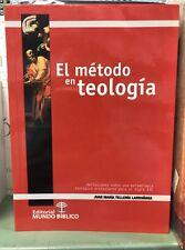El Metodo En Teologia Juan Maria Telleria Larrañaga