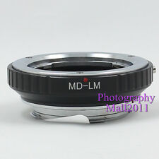 New MD-LM Adapter for Minolta MD Lens to Leica L/M M9 M8 M7 M6 M5 TECHART LM-EA7