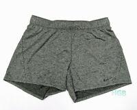 Nike Dry Attack Shorts Womens Grey Dri-Fit Running Training Gym 890470-325 NWT