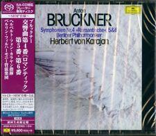 HERBERT VON KARAJAN-BRUCKNER: SYMPHONIES NO.4&5&6-JAPAN 3 SHM-SACD Ltd/Ed Y20