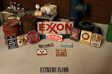 DECO sign 1/18 atelier garage diorama
