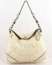 Coach Chelsea Optic White Signature Shoulder Bag New With Tags