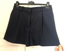 Chloe Shorts Navy Wool