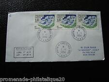 TAAF carta 1/1/94 - sello Yvert y Tellier nº185 (cy6)