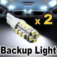 2x White LED Backup Reverse Lights 921 912 T10 16-SMD #C16