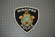 Old Winnipeg Canada Patch Patch (T3)