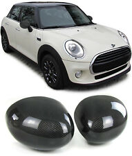 Echt Carbon Spiegelkappen Spiegelcover für Mini F55 F56 ab 13