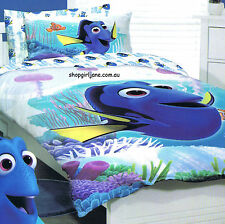 Finding Dory - Coral - Double/US Full Bed Quilt Doona Duvet Cover Set Nemo